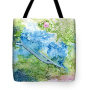 Tree With Rose Tote Bag