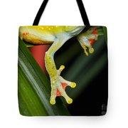 Treefrog Foot Tote Bag
