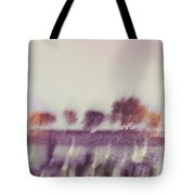 Trees Across The River Tote Bag