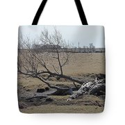 Trees And Early Spring Creek Tote Bag