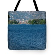 Trees And Islands Tote Bag