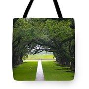 Trees At Oak Alley Plantation Tote Bag