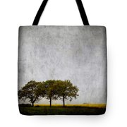 Trees At Sunrise Tote Bag by Carol Leigh