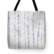 Trees At Twilight Xx Tote Bag