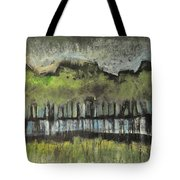 Trees By A Stream Tote Bag