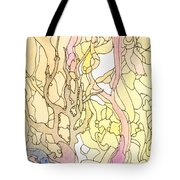 Trees In The Morning Tote Bag