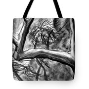 Trees In The Wind Tote Bag