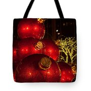 Trees Lights And Ornaments Tote Bag