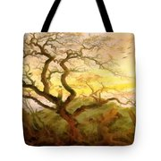 Trees Of Crows Tote Bag