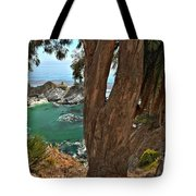 Trees Over Mcway Falls Tote Bag