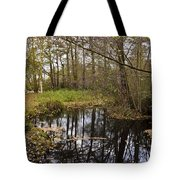 Trees Reflection Tote Bag