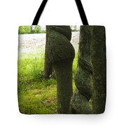 Trees With A Twist Tote Bag