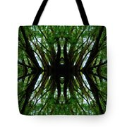 Treetops Abstract Tote Bag