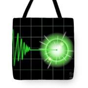 Tremor Black Tote Bag