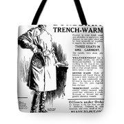 Trench Coat, 1917 Tote Bag