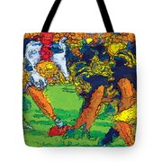 Trench Warfare Color Tote Bag