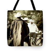 Trenchcoat Cowboy Tote Bag