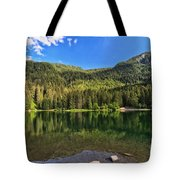 Trentino - Caprioli Lake Tote Bag