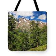 Trentino - Pejo Valley On Summer Tote Bag