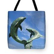 Tresco Dolphins Tote Bag