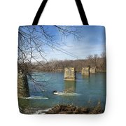 Trestle Of The Past Tote Bag