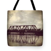 Trestle On The Pamlico River Tote Bag