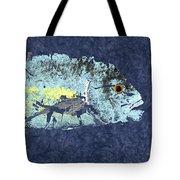 Gyotaku Trevally Tote Bag