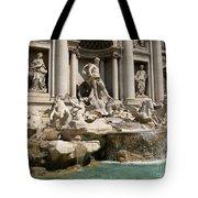 Trevi Fountain In Rome Italy Tote Bag