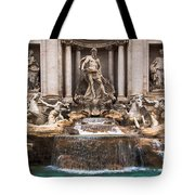 Trevi Fountain Tote Bag by John Wadleigh