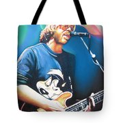 Trey Anastasio And Lights Tote Bag
