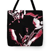 Trey Anastasio In Pink Tote Bag