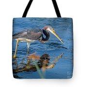 Tri With Fish Tote Bag