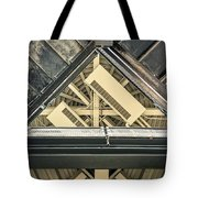 Triangle Ceiling Tote Bag