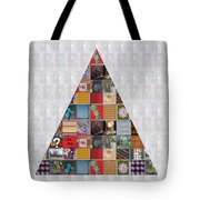 Triangle Crystals Showcasing Navinjoshi Gallery Art Icons Buy Faa Products Or Download For Self Prin Tote Bag