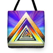 Triangle Pathway Tote Bag