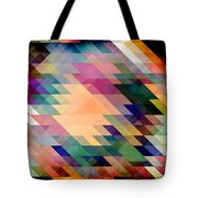 Triangles And Parallelograms Tote Bag