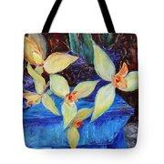 Triangular Blossom Tote Bag