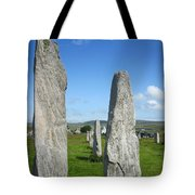 Triangular Callanish Stone Tote Bag