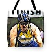 Triathalon Competitor Tote Bag