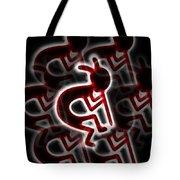 Tribal Dance Tote Bag