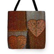 Tribal Hearts Tote Bag