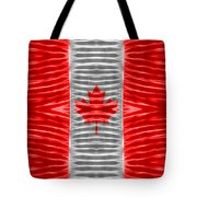 Triband Flags - Canada Tote Bag