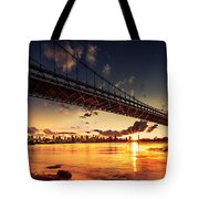 Triboro Sunset Tote Bag