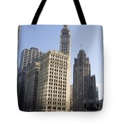 Tribune Tower Chicago Tote Bag