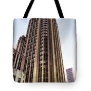 Tribune Tower Facade Tote Bag