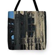 Tribune Tower Tote Bag