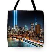 Tribute In Light Memorial Tote Bag