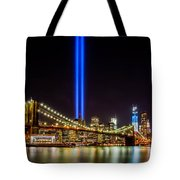 Tribute Lights From Brooklyn Tote Bag