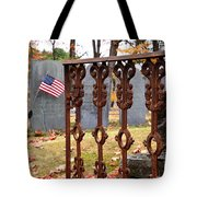 Tribute To A Soldier Tote Bag