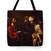 Tribute To Caesar Tote Bag
